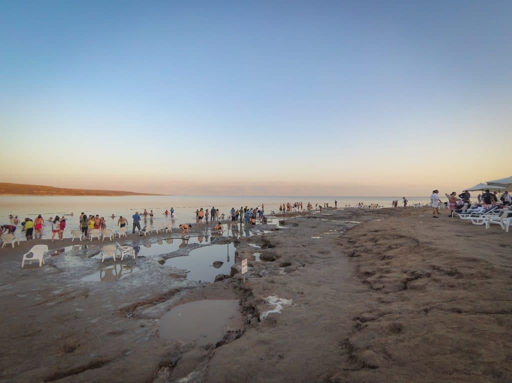 Dead Sea Beach in Israel